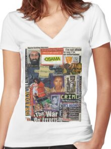 The War of Errors Women's Fitted V-Neck T-Shirt