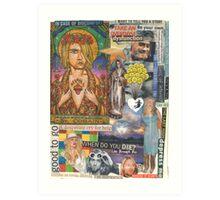 Rock Star Saint Art Print