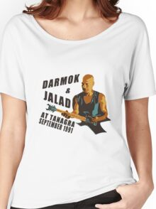 Darmok & Jalad at Tanagra (Light / Color version) Women's Relaxed Fit T-Shirt