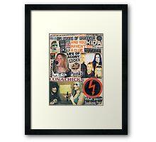 I Love Rock N Roll Framed Print