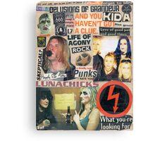 I Love Rock N Roll Canvas Print