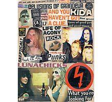 I Love Rock N Roll Photographic Print