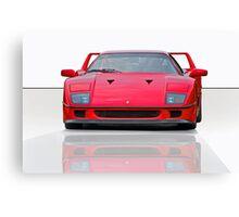 1987 Ferrari F40 I Canvas Print