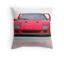 1987 Ferrari F40 I Throw Pillow