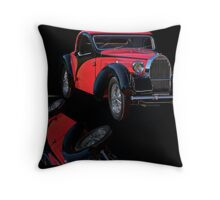 1937 Bugatti Type 57 Atalante Coupe I Throw Pillow