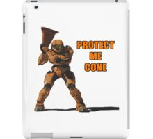Red vs Blue - Protect Me Cone iPad Case/Skin
