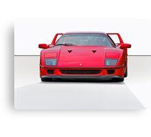 1987 Ferrari F40 II Canvas Print