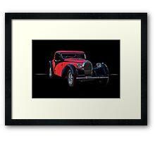 1937 Bugatti Type 57 Atalante Coupe II Framed Print
