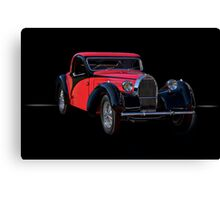 1937 Bugatti Type 57 Atalante Coupe II Canvas Print