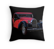 1937 Bugatti Type 57 Atalante Coupe II Throw Pillow