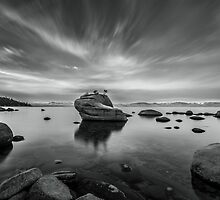On the East Shore - Lake Tahoe by Richard Thelen