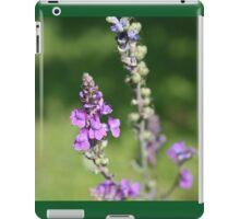 Macro Purple Flowers iPad Case/Skin