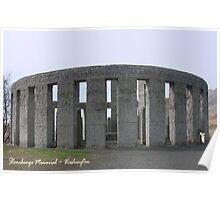 Stonehenge Memorial Poster