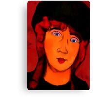 portrait of lolottle Canvas Print