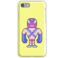 Pixel Luchador - Warrior iPhone Case/Skin