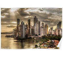 Punta Paitilla - Panama Poster