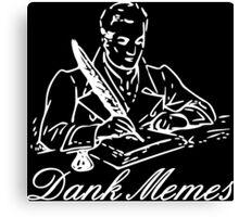 Dank Memes v2 Canvas Print