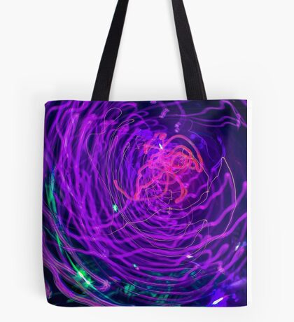 Psychedelic Exposure Tote Bag