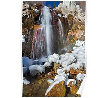 Third Creek Waterfall - Incline Village Poster
