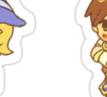 Garen and Lux Sticker