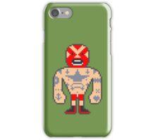 Pixel Luchador - Inked iPhone Case/Skin