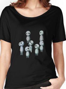 Princess Mononoke, Ghost (Kadama) Women's Relaxed Fit T-Shirt