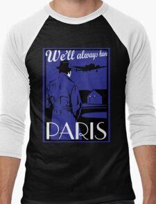 Catharsis Three: We'll Always Have Paris Men's Baseball ¾ T-Shirt