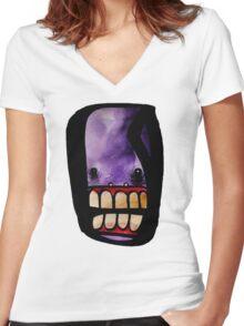 Mr. Reanimated Women's Fitted V-Neck T-Shirt