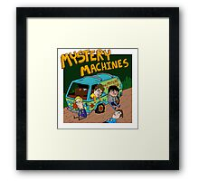Mystery Machines Album Cover Framed Print