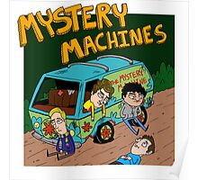 Mystery Machines Album Cover Poster