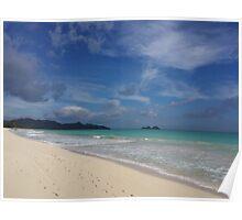 waimanalo beach (bellows) Poster