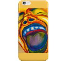 Screaming Man iPhone Case/Skin