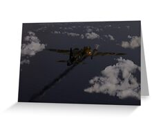 Above and beyond: Jimmy Ward VC Greeting Card