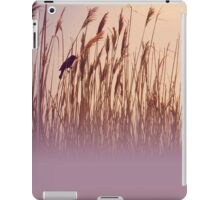 Raven in the reeds iPad Case/Skin