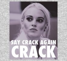 Lindsay Lohan - Say Crack Again, CRACK by leviw94