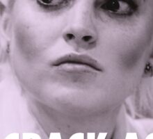 Lindsay Lohan - Say Crack Again, CRACK Sticker