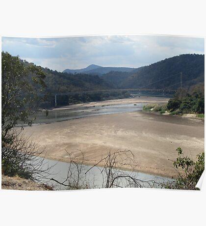 Luangwa River - Zambia Poster