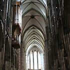 Cologne Dom by Katherine Hartlef