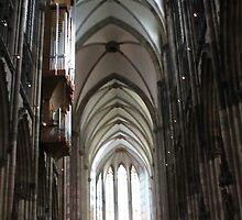 Cologne Dom by Katherine Hartlef