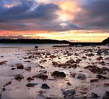 St Brelade Bay Sunrise by Mark Bowden