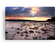 St Brelade Bay Sunrise Canvas Print