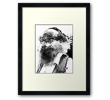 The man with a beard Framed Print