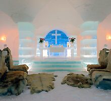 Ice Church, Sorrisniva, Norway by KarenMcDonald