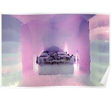 Honeymoon Suite, Sorrisniva Ice Hotel, Norway Poster