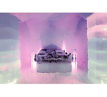 Honeymoon Suite, Sorrisniva Ice Hotel, Norway Photographic Print
