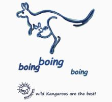 Boing boing boing blue by Echidna  Walkabout