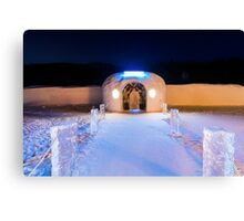 Sorrisniva Ice Hotel, Norway Canvas Print