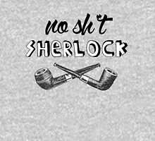 #no sh*t sherlock Womens Fitted T-Shirt