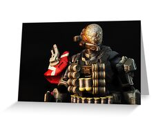SPARTAN-III Commando Greeting Card