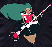 Sticker - Sailor Pluto by Theneeko